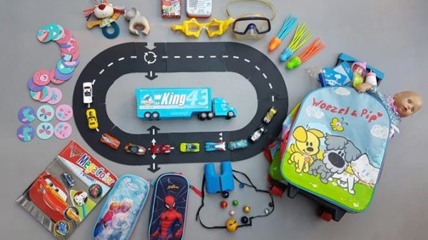 De speelgoedtas van Annabelle: 20 meeneemtips voor op vakantie!