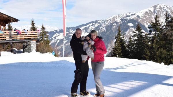 """Wintersport in Oostenrijk met een dreumes: """"We skieden dagelijks beiden 1 dagdeel!"""""""