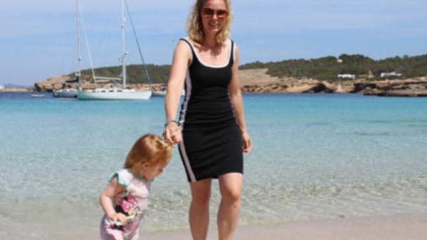 Met kids naar… Ibiza?! Marieke ging naar Portinatx!