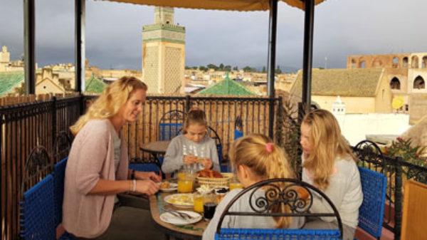 Brechje verkende met haar gezin koningsstad Fez: 'zo overweldigend!'