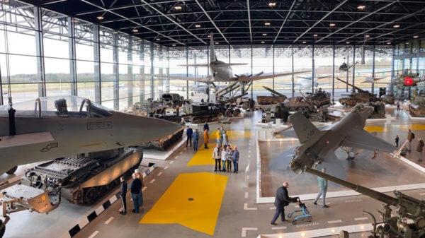 Een dagje met de kids naar… het Nationaal Militair Museum in Soesterberg!
